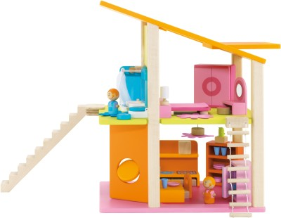 Sevi Dolls House Small With Furniture