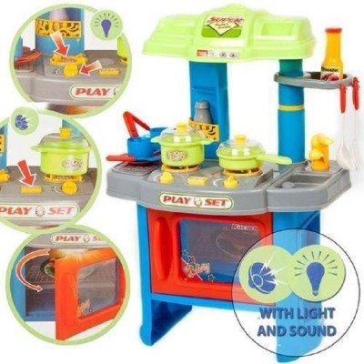 HMS Pretend Play Kitchen set roleplay for kids playset