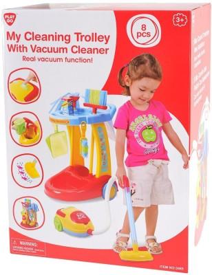 Kiddozone My Cleaning Vaccum Trolley