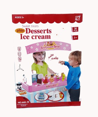 Lotus Battery Operated Desserts Ice Cream (36 Pcs)