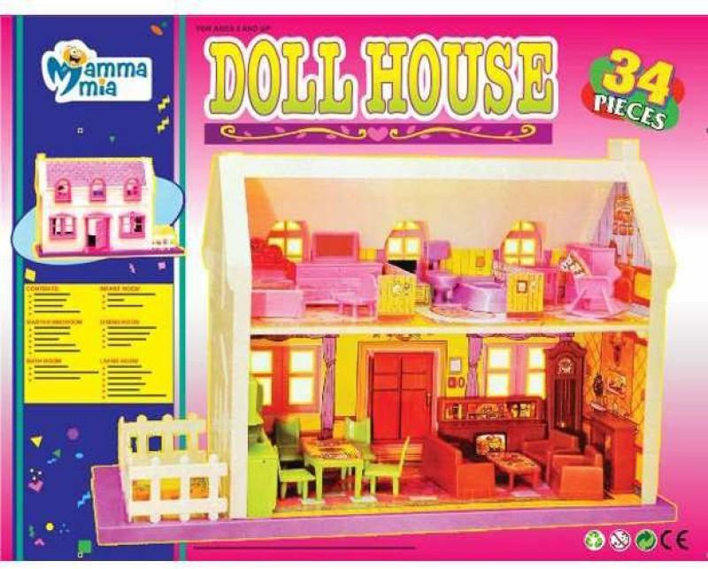 MAMMA MIA DOLL HOUSE(Multicolor)