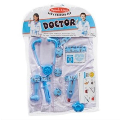 Melissa & Doug Lets Pretend Doctor Custom Set