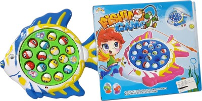Lotus Battery Operated Fishing Game For Kids