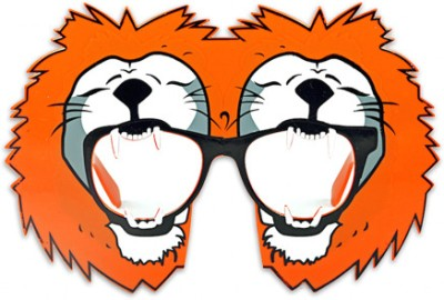 Funcart Lion Glasses