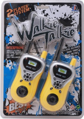 Babytintin 2 Identical in yellow color Walkie Talkie(interphone) antenna