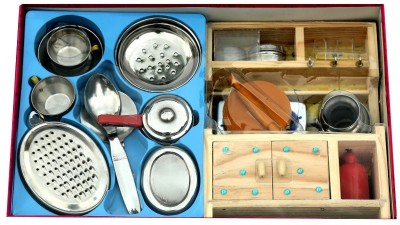Virgo Toys Green House Kitchen Set