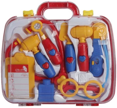 Simba World Of Toys - Plastic Doctor Set in Carry Case