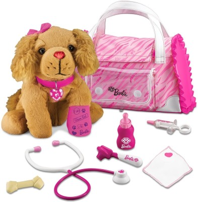 Barbie Hug N Heal Pet Doctor-Cocker Spaniel Set