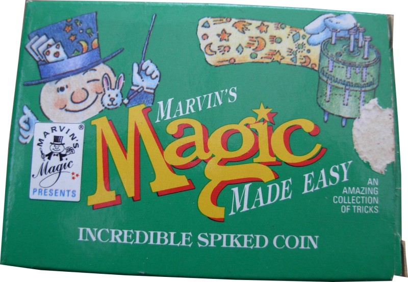 Marvin's Magic Incredible Spiked Coin