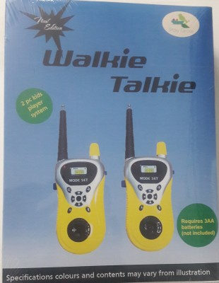 Play Grow Walkie Talkie Toy Set With Radio Control & Antenna