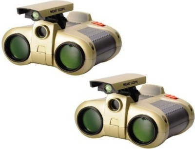 Turban Toys Night Scope Binoculars With Pop-Up Light(pack of 2)