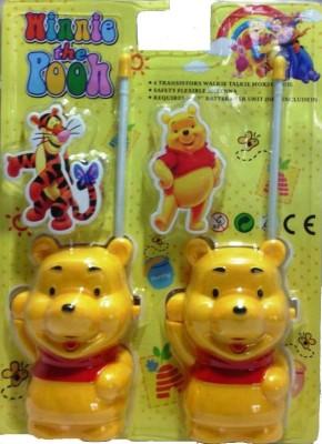 Shop & Shoppee Winnie The Pooh Walkie Talkie