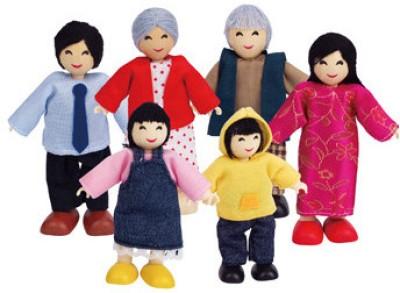 Hape Happy Family Asian