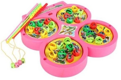 New Pinch Fishing Catching Game With Music Kids Toy( color may vary)