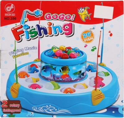 Buds N Blossoms Musical Fishing Game