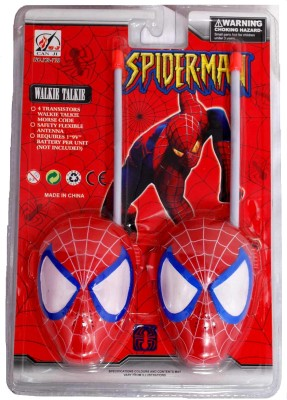 Lotus Spider-Man Walkie Talkie