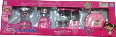 Shop & Shoppee Battery Operated Dream Household set of 4