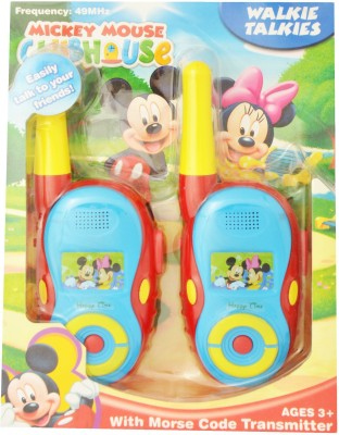 Just Toyz Mickey and Mini Walkie Talkie