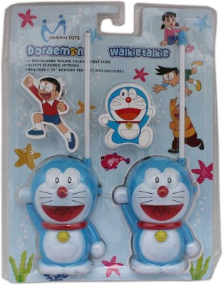 RVOLD Battery Operated Doraemon Walkie Talkie Set For Kids