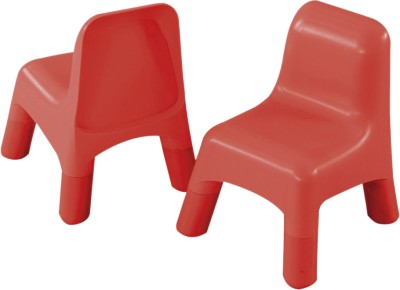 Early Learning Centre Plastic Chairs - RED