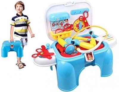 Just Toyz Doctors Set Storage cum Sitting Set