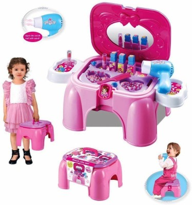 ToysBuggy Kids, Real Action Pretend Play Beauty Set