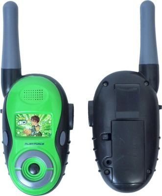 Ben 10 Walkie talkie toy set with radio control & antenna