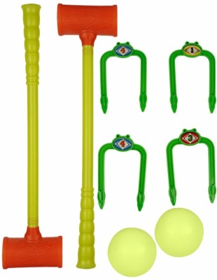Ollington St. Collection Croquet Set - Yellow Balls