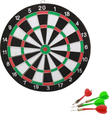 Babytintin Boutique dart board with 4 darts