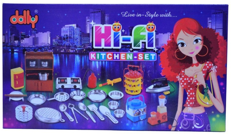 Dolly Hi-Fi Kitchen Set