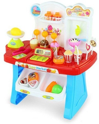ToysBuggy Kids, Battery Operated Mini Supermarket Play Set
