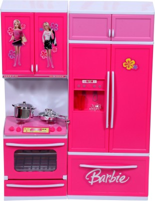 Fabelhaft barbie kitchen set available at flipkart for for Kitchen set on flipkart