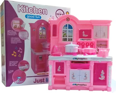 Emob Cute Happy Kitchen Musical Play Set For Baby