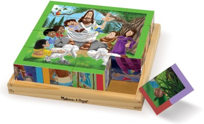 Melissa & Doug New Testament Cube Puzzle