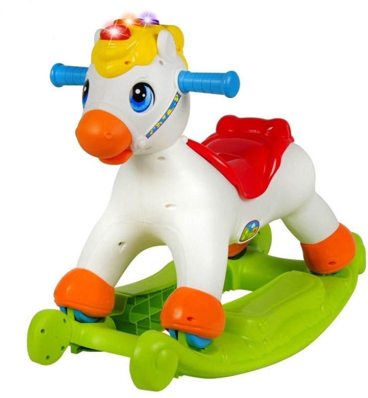 Jaibros Happy Rocking Pony for Kids(Multicolor)