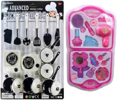 New Pinch combo of Kitchen Unit Play & Fashion Beauty Set