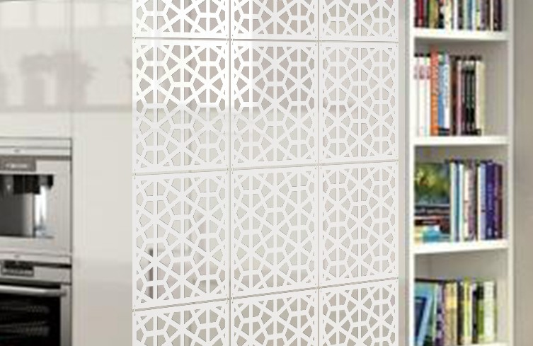 Planet Decor Plastic Decorative Screen Partition