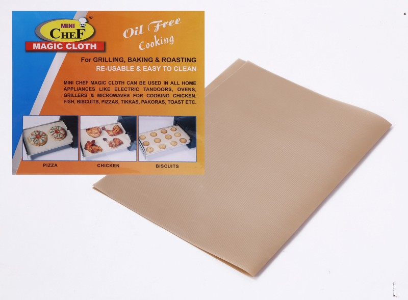 MINI CHEF Magic Cloth (1PC) Solid Roti Flap Cover(Beige)