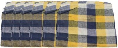 PRATHA Checkered Roti Flap Cover(blue)