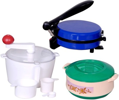 Zaisch With Dough Maker & Casserole Roti and Khakra Maker