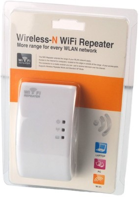 Axcess The WiFi Repeater extends the range of your WLAN network easily.