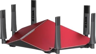 D-Link DIR-890L Ultra AC3200 Tri-Band Gigabit Wi-Fi Router(Red)