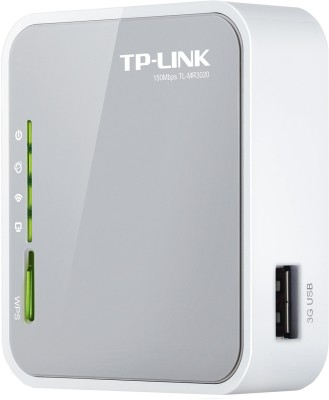 TP-LINK TL-MR3020 Portable 3G/3.75G/4G Wireless N Router