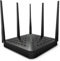 Tenda TE-FH1202 Wireless High Power AC1200 Dual Band Gigabit WiFi Router Router(Black)
