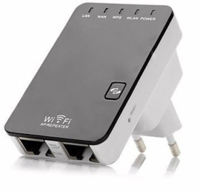 Axcess EU Plug 300Mbps 2.4GHz 802.11 Wireless-N Mini WiFi Router AP Repeater