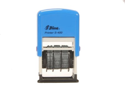 Shiny Dater Stamp Self Inking