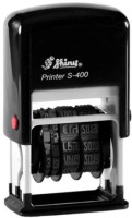 Shiny S-400 Self Inking Stamp(Small, Blue)