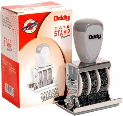 Oddy Dater With Received (Set of 3) Self-inking Stamp