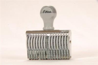 Smart Stamp Shiny Numbering Stamp 15 digit(4 mm, NA)