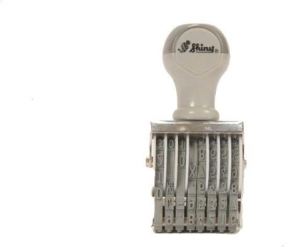 Shiny Hand Held Numbering Stamp 8 digit